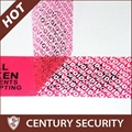 Tamper Evident Security Void Tape for