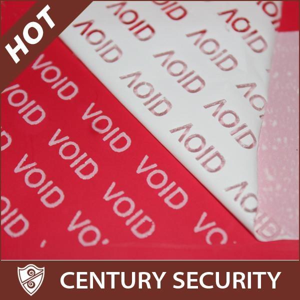 Tamper Proof Security Void Labels 1