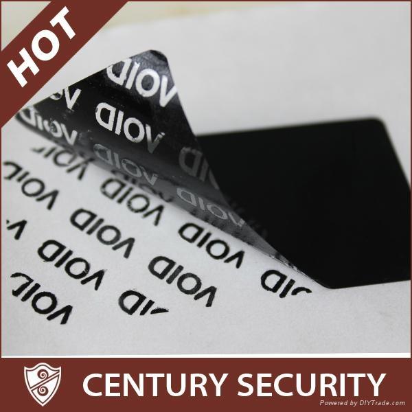 Total Transfer Evident Tamper Security Void Labels 1