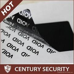 Total Transfer Evident Tamper Security Void Labels