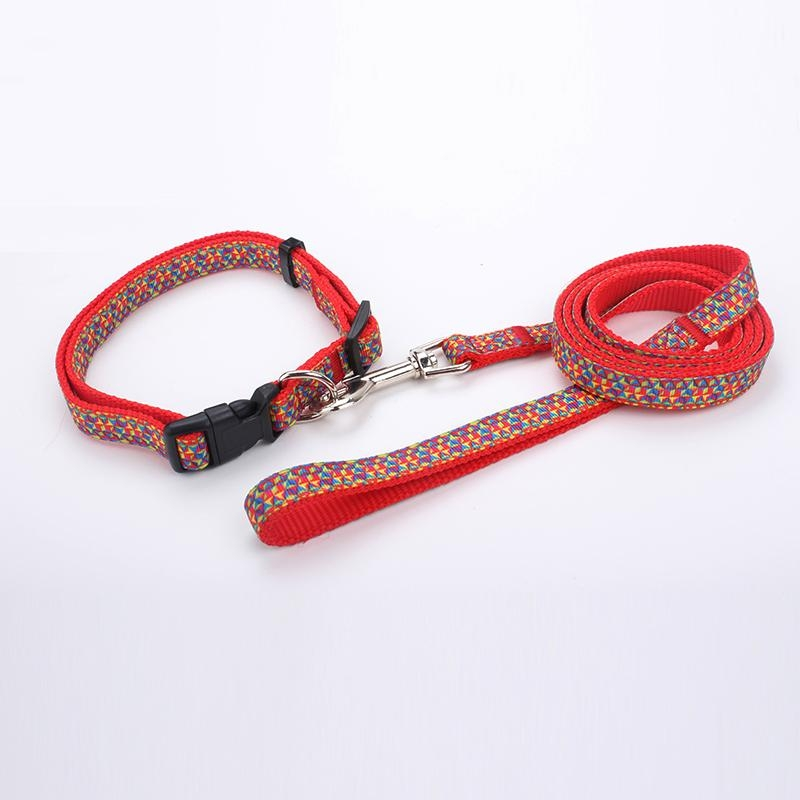 2018 China factory wholesale customized dog collar and leash 3
