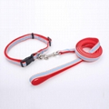 2018 China factory wholesale customized dog collar and leash 4