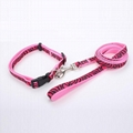 2018 China factory wholesale customized dog collar and leash 5