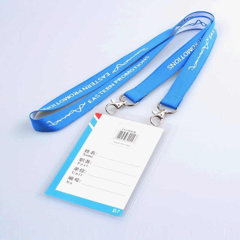 樣板免費 專業的滌綸提花挂繩 4