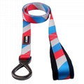 Factory personalized wholesale sublimation polyester dog leash 5