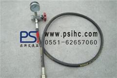 蓄能器充氮装置_蓄能器充气工具