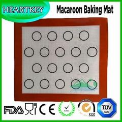 Macaroon Non-stick Heat Resistant Fiberglass Silicone Baking Mat