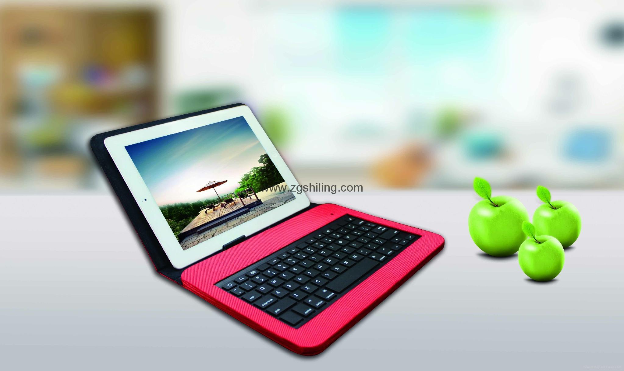 苹果MFI iPad Air 皮套有线键盘8pin Lightning 接口 5