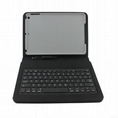 蘋果MFI iPad Air 皮套有線鍵盤8pin Lightning 接口