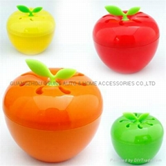 Apple shape gel air freshener bottom price stock