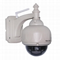 Wanscam HW0028 Outdoor PTZ 3X Optical Zoom Dome Onvif IR Wifi IP Camera 1