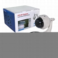 Wanscam HW0028 Outdoor PTZ 3X Optical Zoom Dome Onvif IR Wifi IP Camera 2