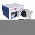 Wanscam HW0028 Outdoor PTZ 3X Optical Zoom Dome Onvif IR Wifi IP Camera 3