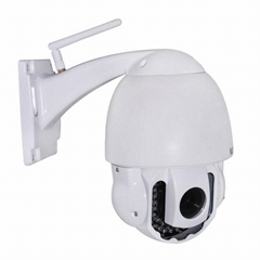 Wanscam HW0025 IR 40M  Wifi Wireless Dome Megapixel Outdoor PTZ IP CCTV Camera