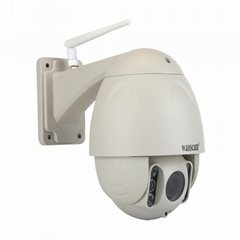 WANSCAM HW0045 2MP 1080P HD Outdoor Wifi Dome PTZ IP Camera