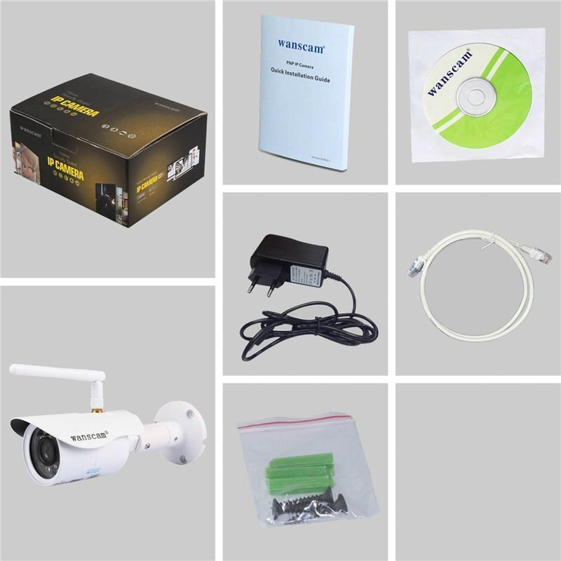 WANSCAM HW0043 Cheap Outdoor HD Wifi IP Camera (China ...