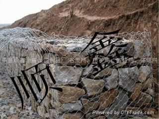 【装石头镀锌石笼网】 4