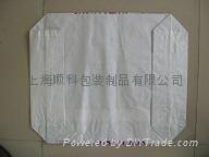 淀粉专用白色阀口牛皮纸包装袋 3