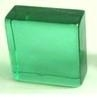 solid glass block