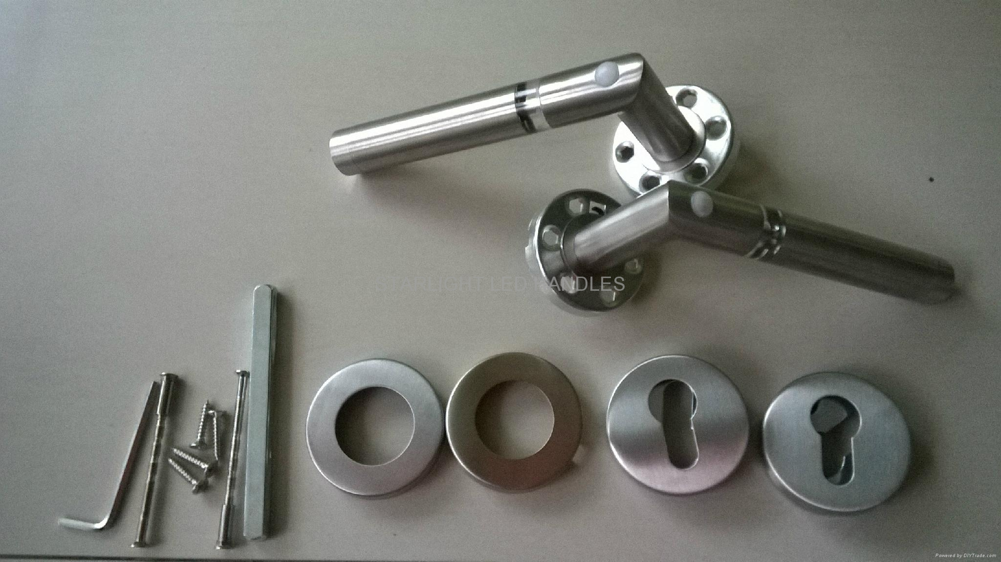 Interior door hardware LED door handles 4