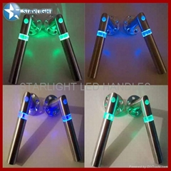 Interior door hardware LED door handles