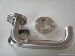 Door locks,solid level handle,door handle