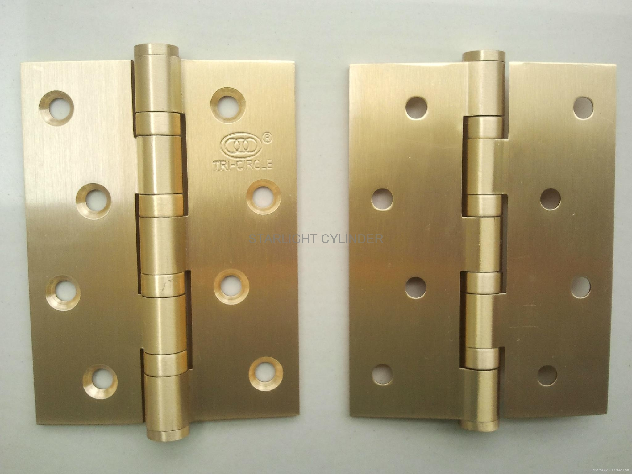Door Hinges Product : Commercial interior door polish brass hinge bdh