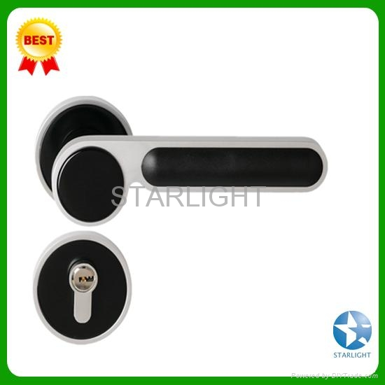 Aluminum alloy door lock 5