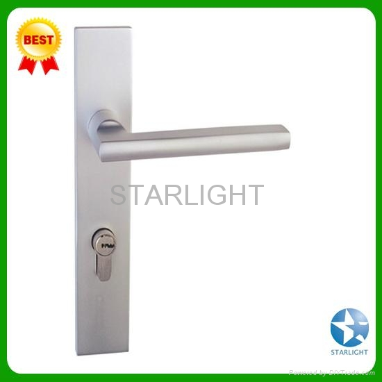Aluminum alloy door lock 4