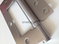 Residential hinges easy install Stainless sub mother flush door hinges