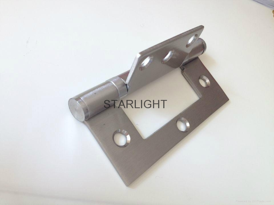 Residential hinges easy install Stainless sub mother flush door hinges 5