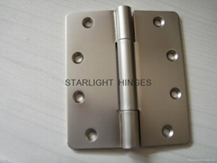 3 kunckles Pearl Nickel finish Korea Market Stainless steel door hinges