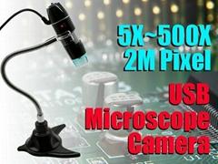 usb digital microscope camera 500X 2M Pixel
