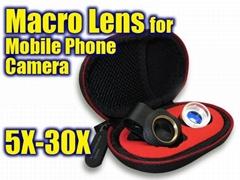 macro lens for mobile phone camera 5x-30x