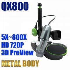 usb digital microscope 800X HD 720P 3D preview