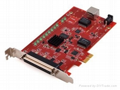SDLC-PCIE High Speed Synchronous Serial Port Card