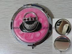 Pink Epoxy Cosmetic Mirror LFM2101 Promotion Gift Mirror