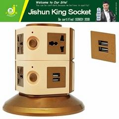 Middle East 7 Gang universal outlet 250v ac power electric socket mould