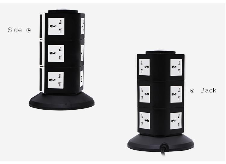613 Hot Sell Sliding Electric UPS Power Plug Socket  4
