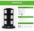 613 Hot Sell Sliding Electric UPS Power Plug Socket  2