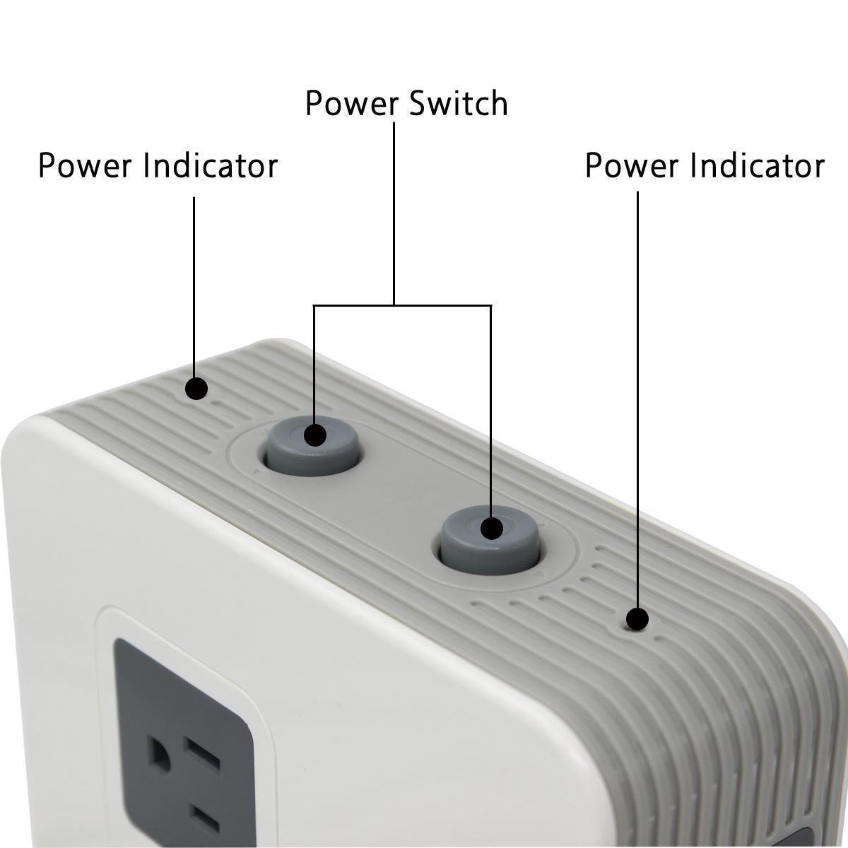 UL认可的美规过载立式插座 4