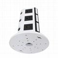 110V ETL Electrical Plugs Tower Socket Extension Power Strip 3