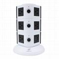 110V ETL Electrical Plugs Tower Socket
