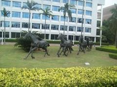 玻璃鋼雕塑馬