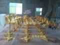 玻璃钢雕塑 5