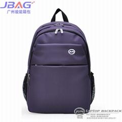 210D Nylon Purple Computer Backpack(JNB-1007)