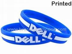 Printed Silicone Wristba
