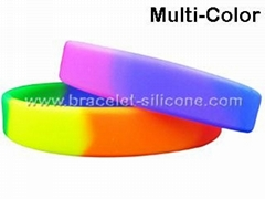 Multi-Color Silicone Wri