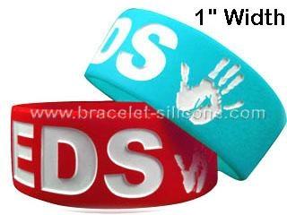 1 Inch Silicone Wristbands&Silicone Bracelets - STARLING 1