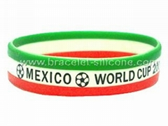 Country Flag Silicone Wr
